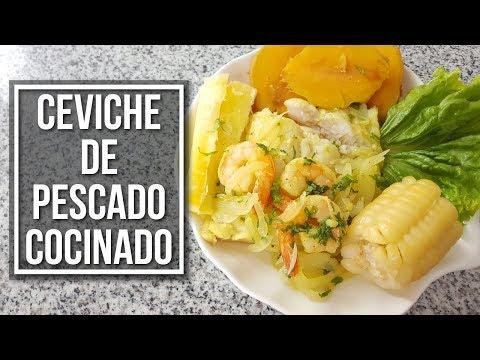 Ceviche de pescado Cocinado - Otra manera de preparar ceviche! | Estilo Marilin