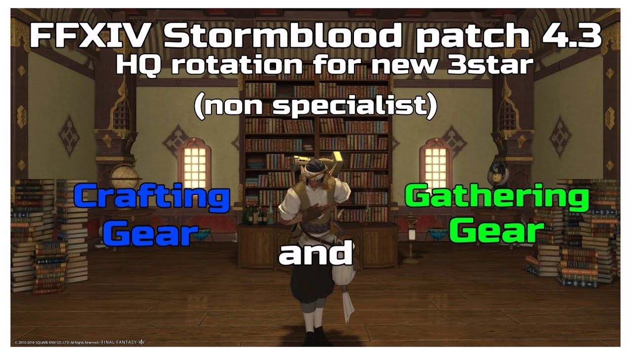 FFXIV stormblood patch 4 3 non specialist hq rotation for