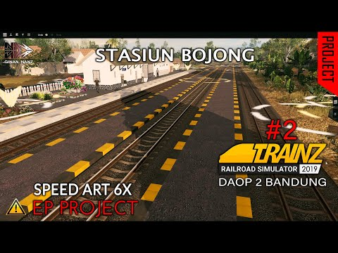 stasiun-bojong---speed-art---trainz-simulator-2019-indonesia