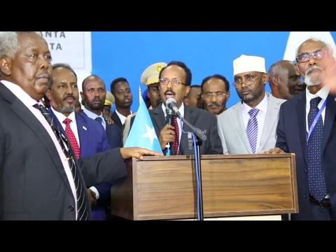 Former Prime Minister Farmajo elected as new Somalian President