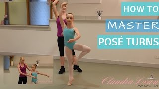 MASTER PIROUETTE TURNS!
