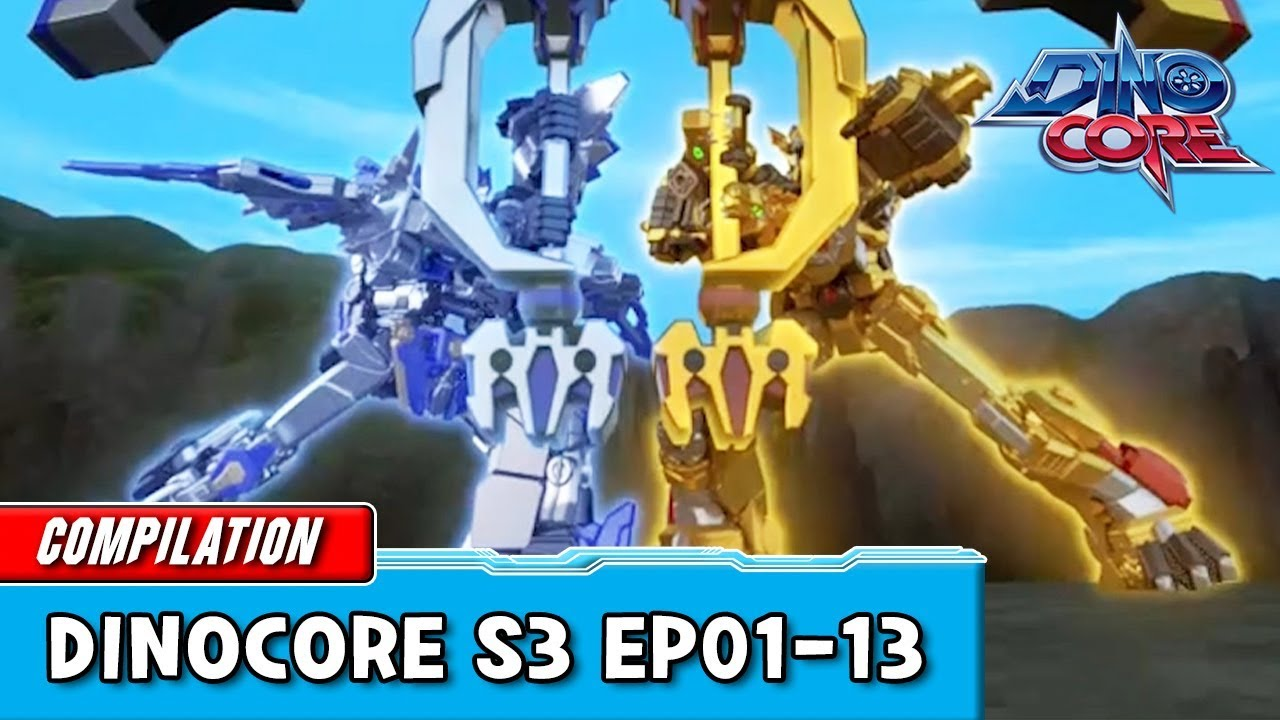 Download [DinoCore] Compilation | S03 EP01 - 13 | Best Animation for Kids | TUBA