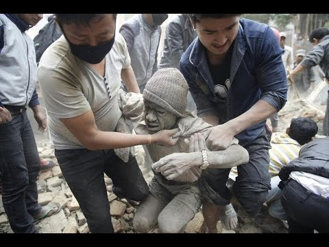 Nepal Earthquake 2015 Before & After Images With Facts - YouTube