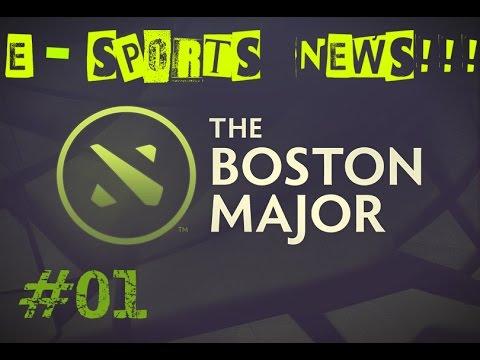 E-Sports News-#01 Boston Major [PT-BR]