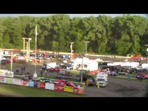 Modified Heat 1 @ Hamilton County Speedway 07/02/16