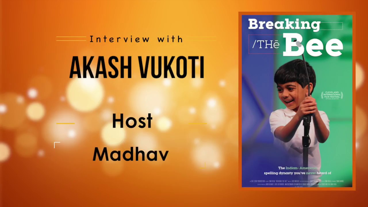 5year Old Akash Vukoti - The Spelling Bee Genius - Full Interview with DesiplazaTV | Host : Madhav