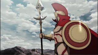 Leonidas vs Gorgon | Fate/Grand Order: Absolute Demonic Front - Babylonia