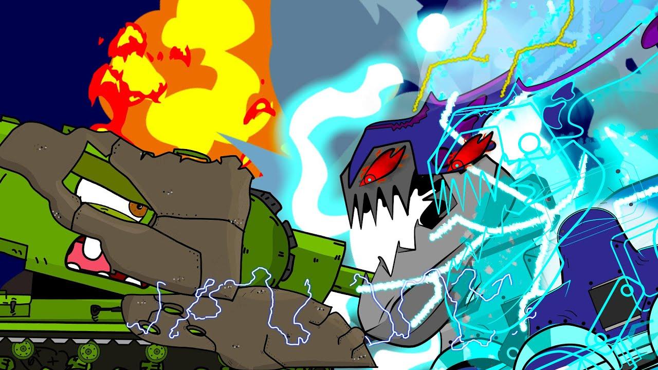 Монстр Пришелец |  Monster Alien | мультики про танки | tank cartoons | АМЕГА ТУНС |  amega toons
