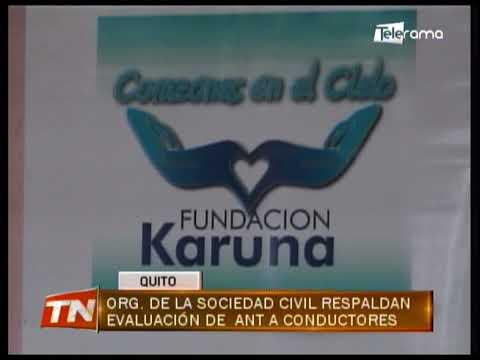 Org. de la Sociedad Civil respaldan evaluación de ANT a conductores