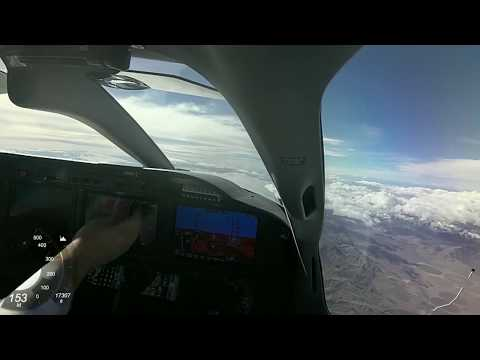 TBM 930 flight from Utah to Camarillo, California