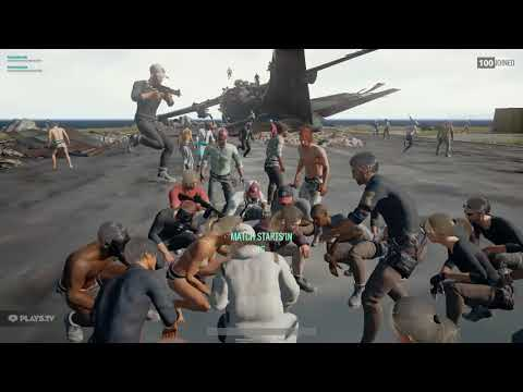 PUBG - What happens when you play music in the lobby...