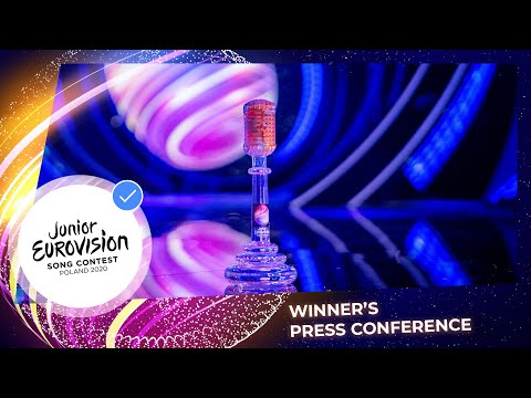 Winner's Press Conference - Junior Eurovision 2020