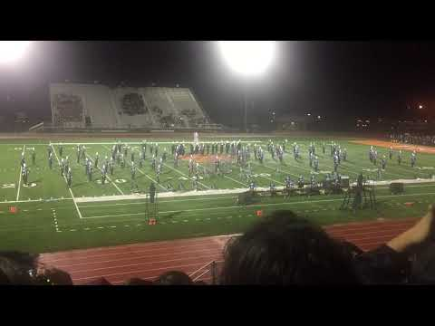 Veterans Memorial ECHS 2018 Marching Band Dystopia PigSkin Performance