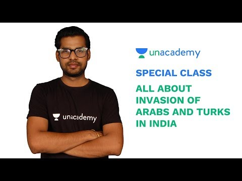 Special Class - Indian History - All about Invasion of Arabs and Turks in India - Praveen Bharti
