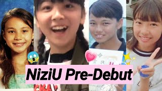 Niziu - Predebut Vs Now  Before And After  All Members 虹プロ Nizi