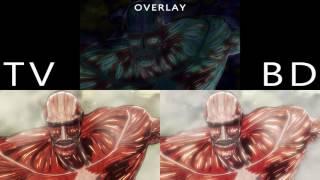 Attack on Titan Season 2 - Episode 6 Preview (TV/Blu-ray COMPARISON)