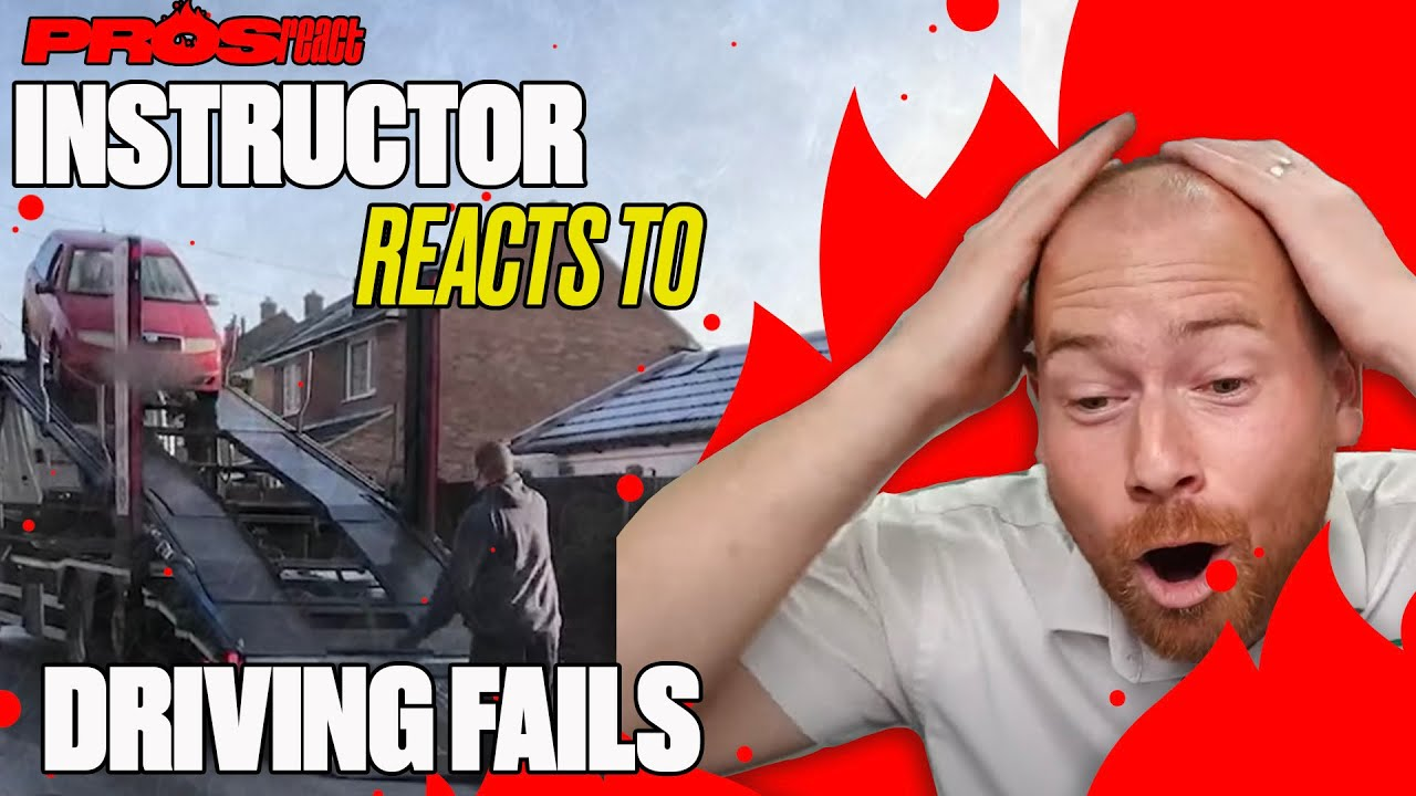 Driving Instructor Reacts To AWFUL Driving Fails | Pros React | LADbible