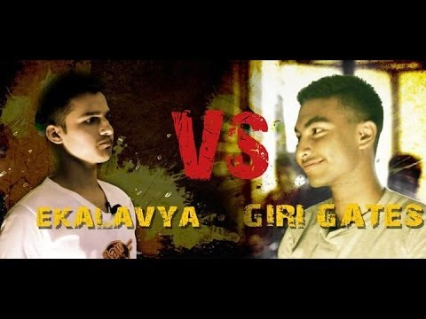 Eklavya Vs Giri Gates  Raw Barz New Rap Battle 2014