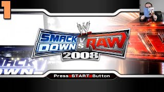 WWE SmackDown vs. Raw 2008: 24/7 Mode #1 - 10 years late to the party