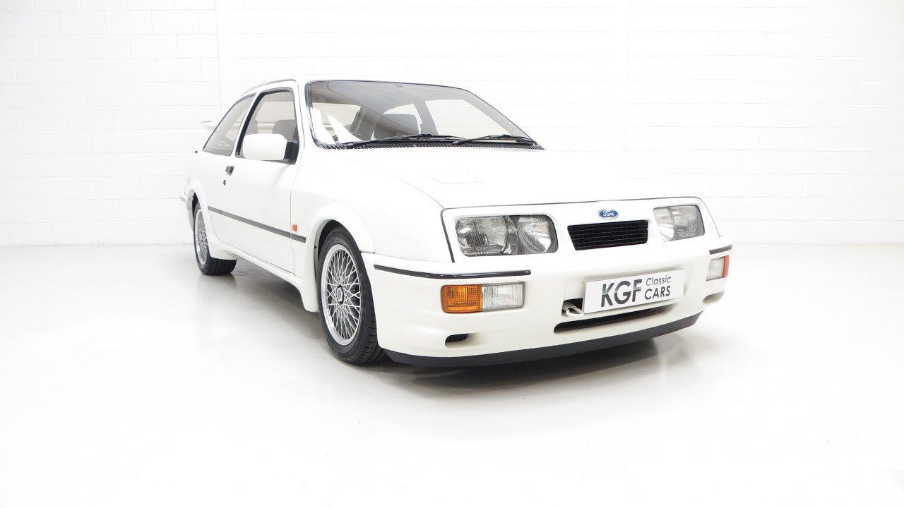 An iconic ford sierra rs cosworth with just 32 521 miles from new sold