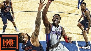 Detroit Pistons vs New York Knicks Full Game Highlights / March 31 / 2017-18 NBA Season