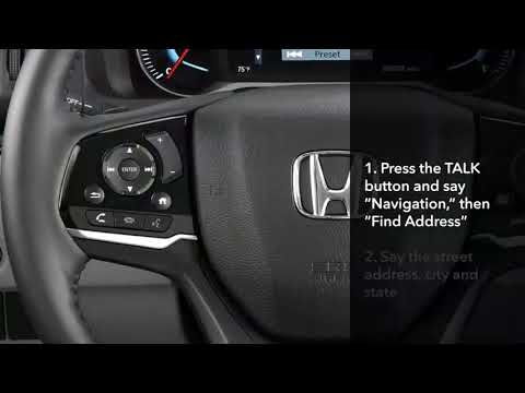 Honda Pilot: How to Use Major Navigation System Features
