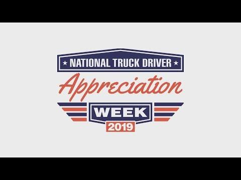 National Truck Driver Appreciation Week 2019