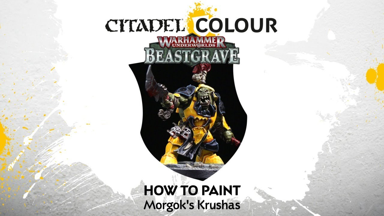 How to Paint –Morgok's Krushas