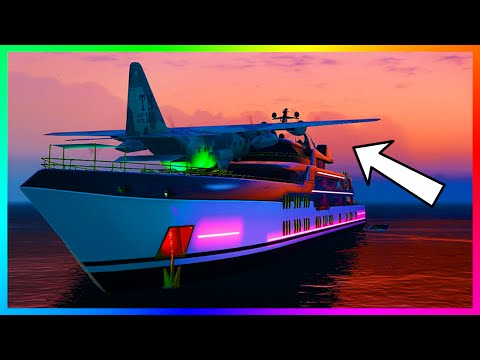 6 Hidden & Secret Yacht Features/Details You Need To Know Before Buying One In GTA Online!