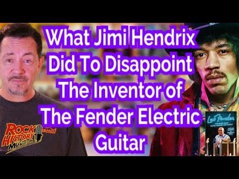 Why Fender Guitar's Inventor Was Disappointed With Jimi Hendrix