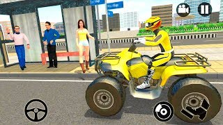 Bike Games - Modern City ATV Taxi Sim: Quad bike Simulator 2018 - Gameplay Android & iOS free games