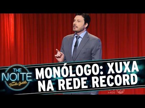 The Noite (18/08/15) - Monólogo: Xuxa Pede Desculpas à Cláudia (sim, A Do Aham, Cláudia)