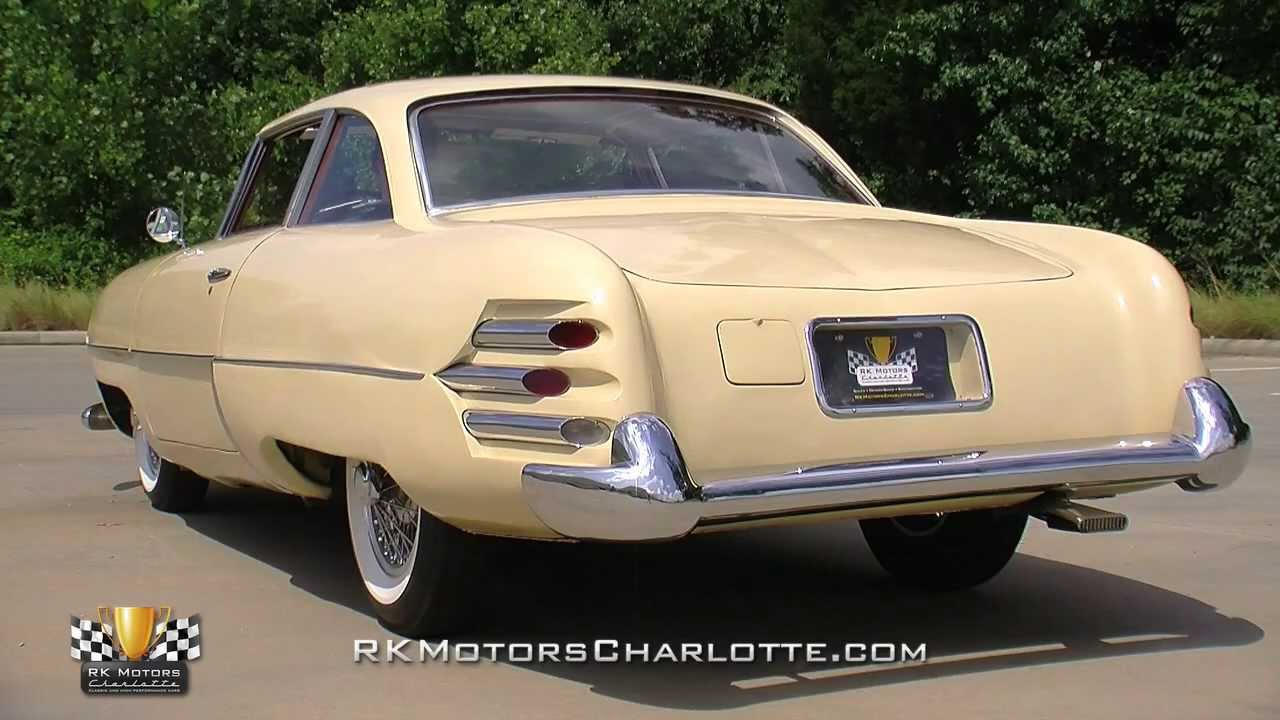 134434 1953 Hudson Italia Prototype
