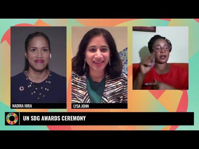 UN SDG Action Awards Ceremony 2021