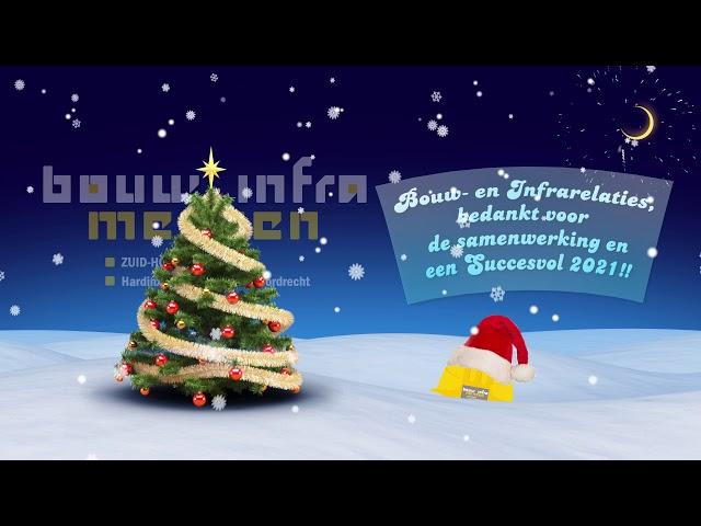 Kerst en Oud- en Nieuwgroet Bouw- en Inframensen ZHZ