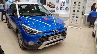 Hyundai i20 Active Facelift Dual Tone|Blue and White|New Color Exterior and Interior 4K | Shot S9+