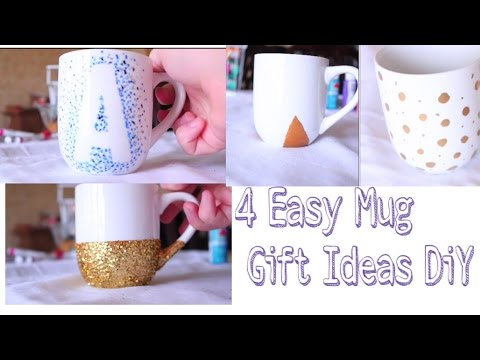 4 Easy Mug Gift Ideas – DiY