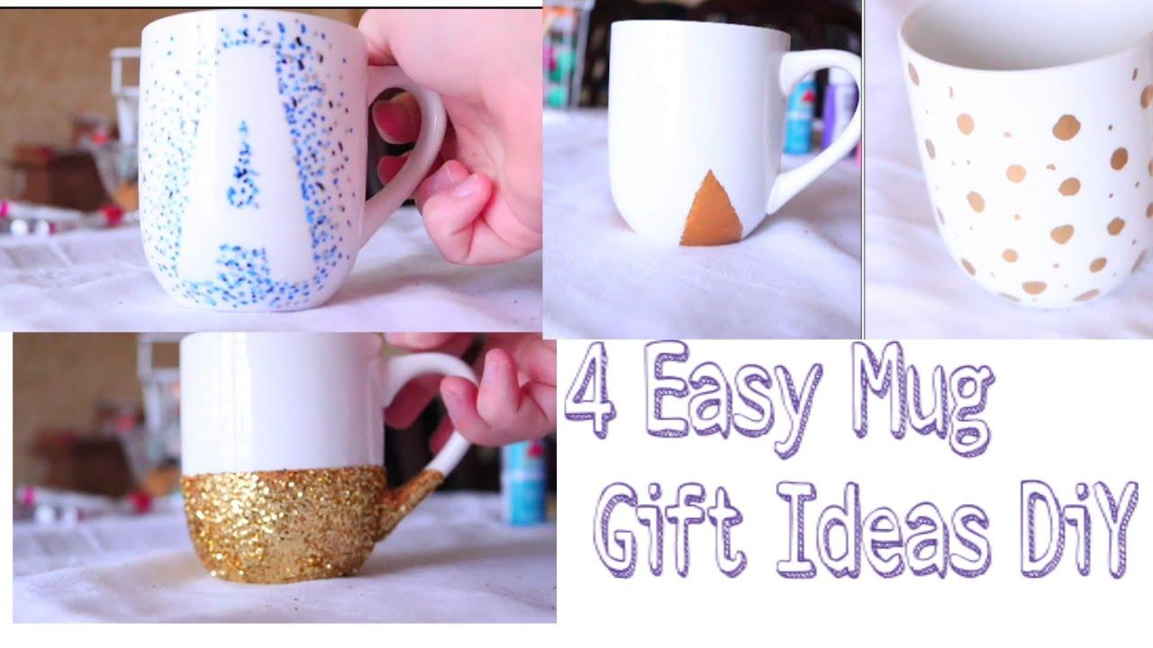 4 easy mug gift ideas diy youtube negle Images