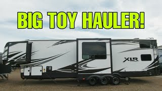 Big Toy Hauler with a great interior! Check this out! XLR 382AMP