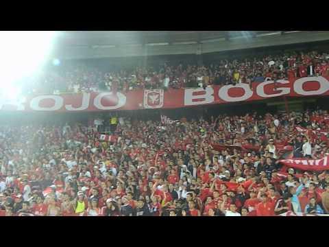 Disturbio Rojo Bogota- Miy8z (31/07/2013)/ Se viene la banda del diablo