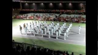 "The Roayl Swedish Navy Cadet Band at the ""Tattoo"" in Torrevieja, Spain Saturday 25th of August 2012"
