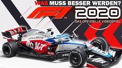 F1 2020 TRAILER, INHALTE, NEWS - Was MUSS in F1 2020 VERBESSERT/GEÄNDERT werden? Analyse & Eindruck