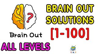 Brain Out Solutions all levels walkthrough level 1 - 100 part 1 (Updated)