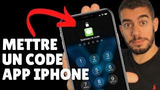 How to lock an iOS app? Block an app with an iPhone code! 🔐 screenshot 1