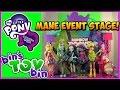 Equestria Girls Rainbow Rocks Mane Event Stage Playset! Review by Bin's Toy Bin