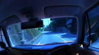【SUZUKI HUSTLER】新熊野大橋~三重県(元)玉置山【Panasonic HX-A500】
