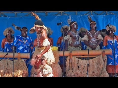 "Kanak song by the ""We Ce Ca"" group, New Caledonia"