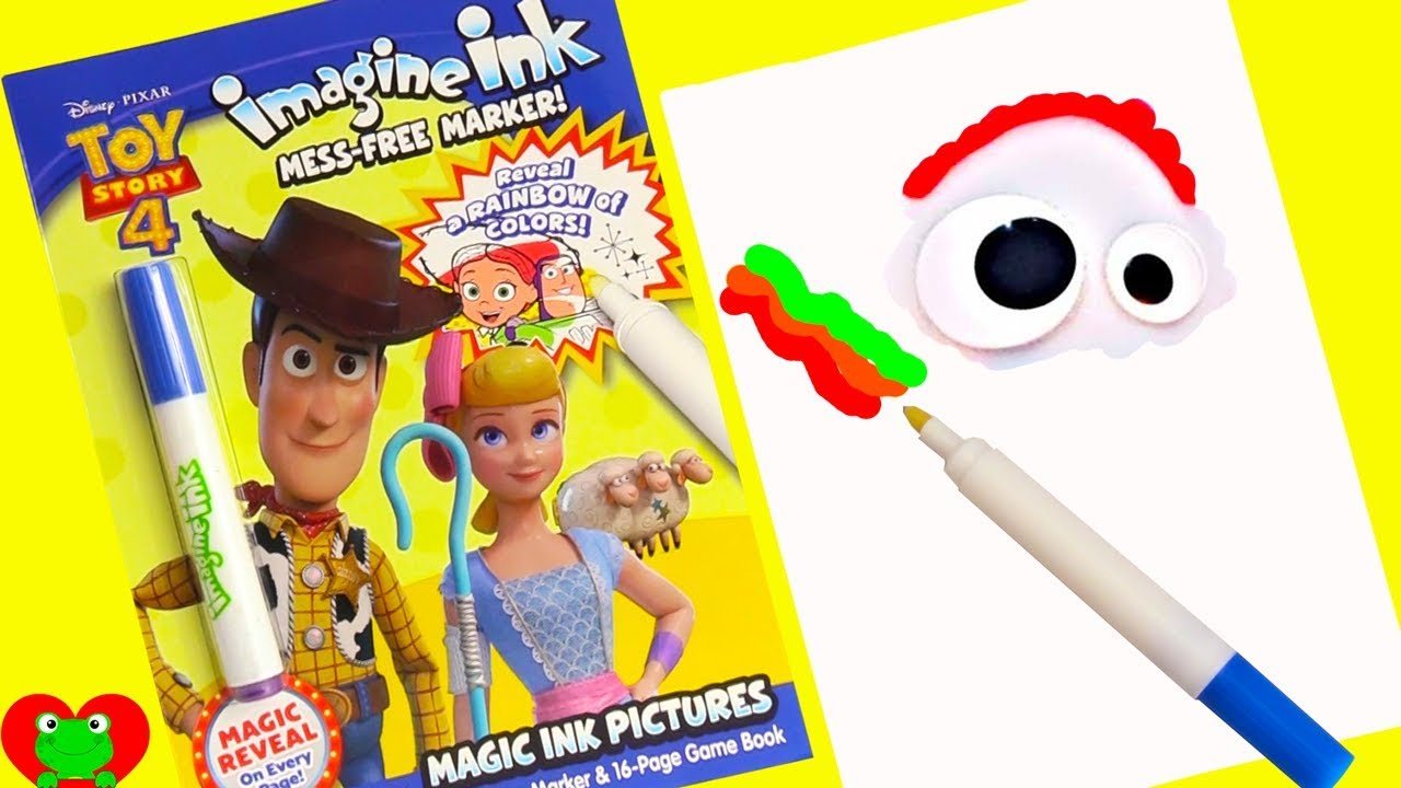 Toy Story 4 Coloring Games Imagine Ink Magic Marker and ...