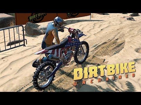 DIRT BIKE UNCHAINED - Red Bull Dirt Bike Racing Gameplay