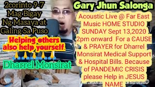 Gary Jhun Salonga Acoustic Live @For The CAUSE Of My SON